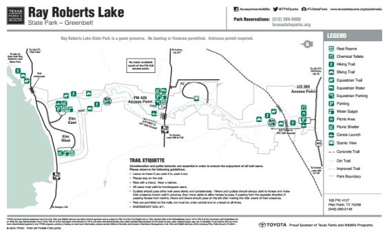 Greenbelt Corridor map